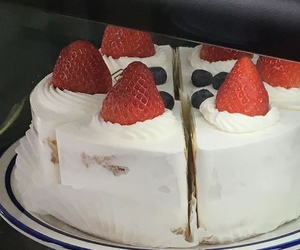 cake, delicious, and summer image