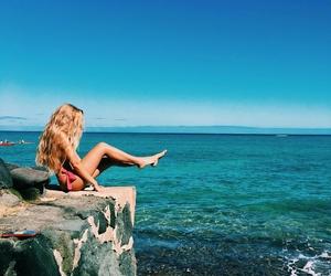 girl beach image