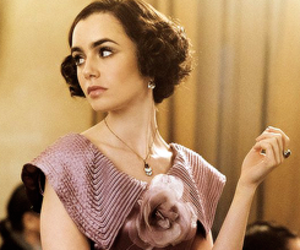 lily collins and the last tycoon image