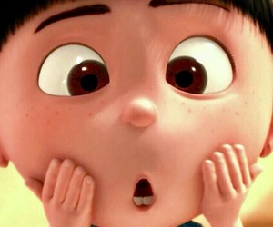 despicable me, agnes, and funny image