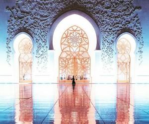 abu dhabi, mosque, and masjid image