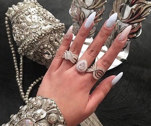 glamorous and nails image