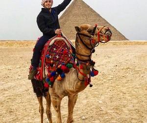egypt, pyramide, and giza image