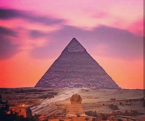 egypt, pyramid, and giza image