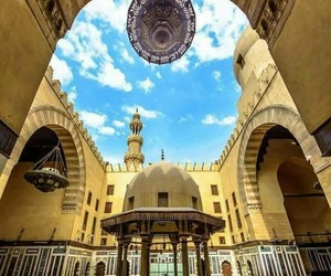 cairo, egypt, and mosque image