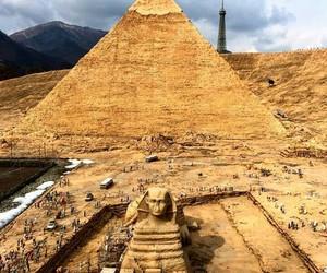 cairo, egypt, and pyramid of giza image