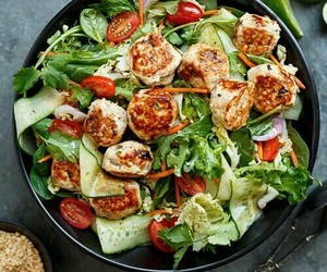food and salad image