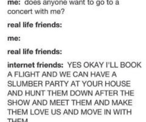 friendship, internet friends, and dedicated image