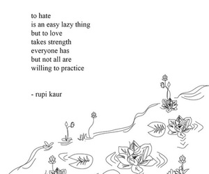 quotes, rupi kaur, and hate image