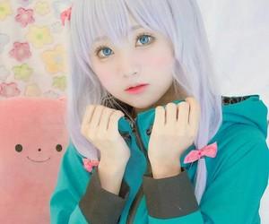 izumi, sagiri, and eromanga+sensei image