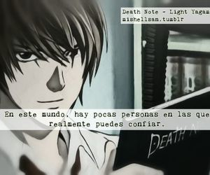 anime, death note, and frases image