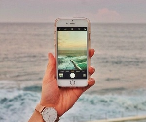 beach, iphone, and beautiful image