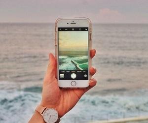 beach, iphone, and beautiful image