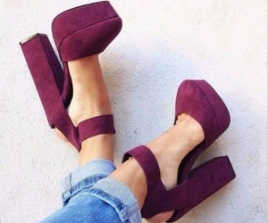 shoes and 👠 image