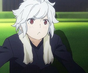 anime, bell, and danmachi image