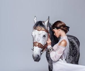 beautiful, horse, and ukrainian image