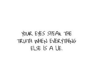 eyes, lies, and quote image