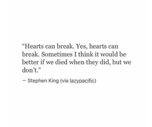 broken heart, him, and love quotes image