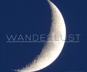 inspiration, quotes, and moon image