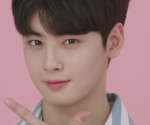 kpop, cha eunwoo, and pink image
