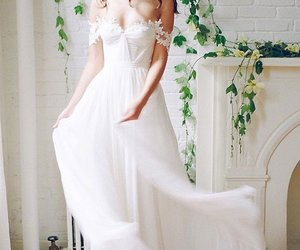 simple wedding dresses image