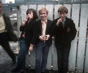 boy, cigarette, and grunge image