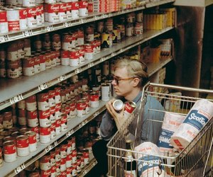 andy warhol, art, and campbell image