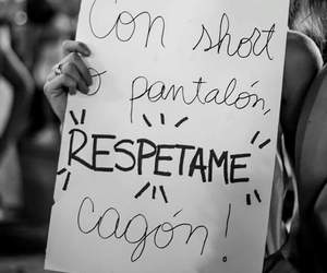 respect, woman, and niunamenos image
