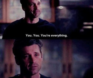 grey's anatomy, meredith grey, and patrick dempsey image