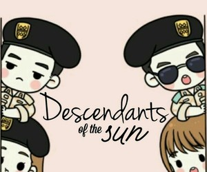 dots, fanart, and descendents of the sun image