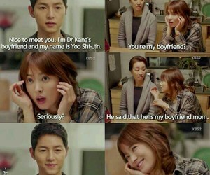 kdrama, descendants of the sun, and quotes image