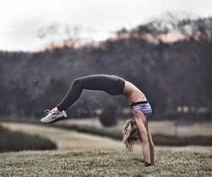fitness, sport, and nike image