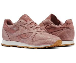 classic, leather, and reebok image