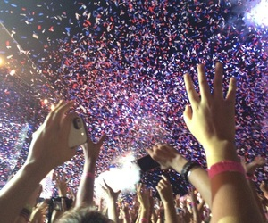 concert, miley cyrus, and party image