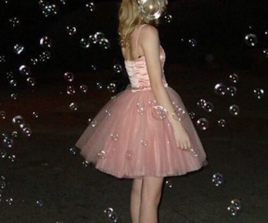 grunge, bubbles, and pink image