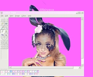 aesthetic, lockscreen, and ariana grande lockscreen image