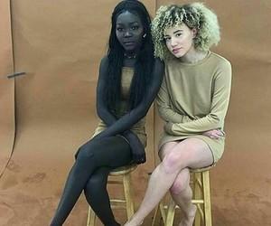 beautiful, black, and all shades image