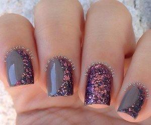 nails, fashion, and winter image