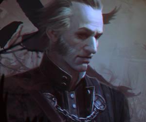 drawing, vampire, and regis image