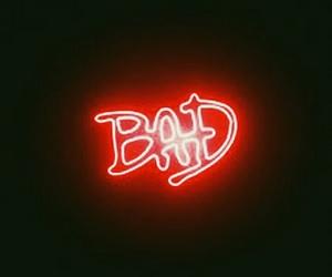 light, bad, and michael jackson image