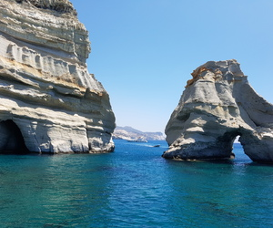 greek island, summer, and photography image