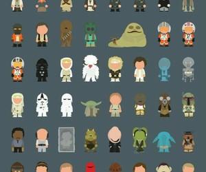 star wars, chewbacca, and darth vader image
