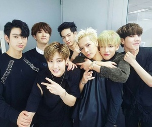got7, bambam, and jackson image