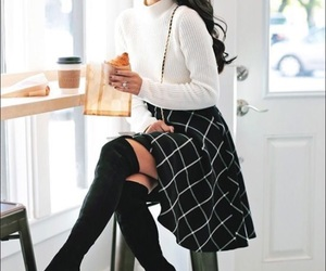 fashion, winter, and boots image