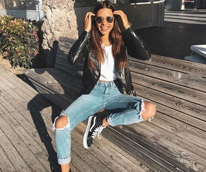 fashion, mode, and outfit image