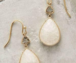 classy, earrings, and diamond image