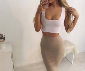 beige, body, and crop image