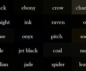 black, colors, and coal image