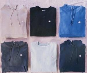 champion, fashion, and hoodie image