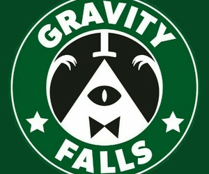 gravity fall starbucks image